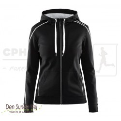 In-The-Zone Full Zip Hood, Women - flere farver - Team Aesthetics