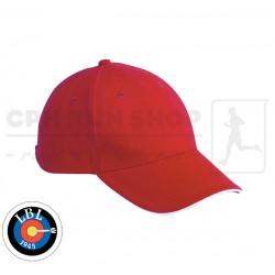 Clique Davis Cap, red - Lyngby Bueskyttelaug