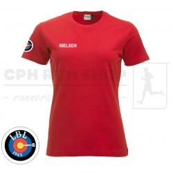 CliqueNew Classic-T Women, red - Lyngby Bueskyttelaug