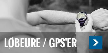 Løbeure / GPS'er
